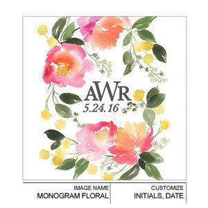 Tmx 1497550908655 Monogramfloral Royal Oak, MI wedding favor