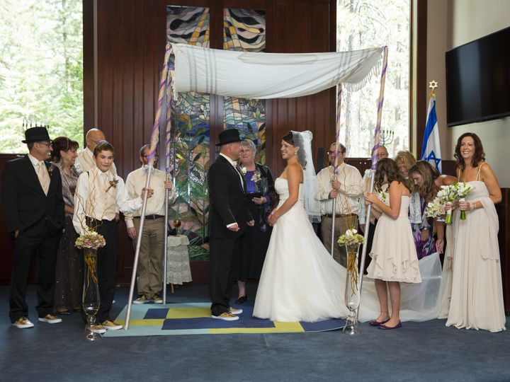 Tmx 1436397917209 Jill And Ricks Wedding My Chuppah Petaluma, California wedding officiant