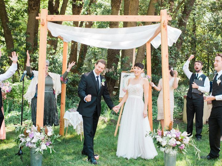 Tmx 1438819082146 Amanda And David Mazal Tov Petaluma, California wedding officiant