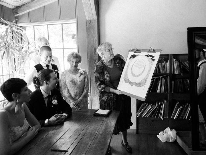 Tmx 1438819142450 Amanda And David Ketubah1 Petaluma, California wedding officiant