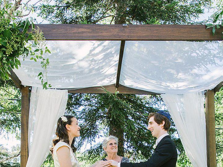 Tmx 1527543133 D94b846f838a37ee 1527543132 30bf46123a271a79 1527543131386 7 E Zunderthechuppah Petaluma, California wedding officiant