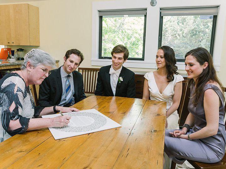 Tmx 1527543187 554d588b81e27e6f 1527543186 34ee46d48bb38895 1527543186023 1 E ZWeddingketubah Petaluma, California wedding officiant