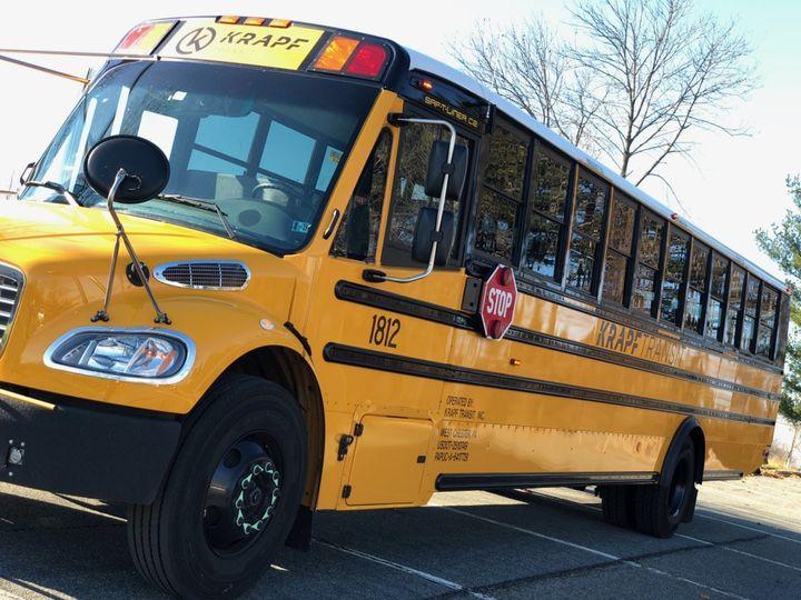 Cost friendly 48 passenger bus