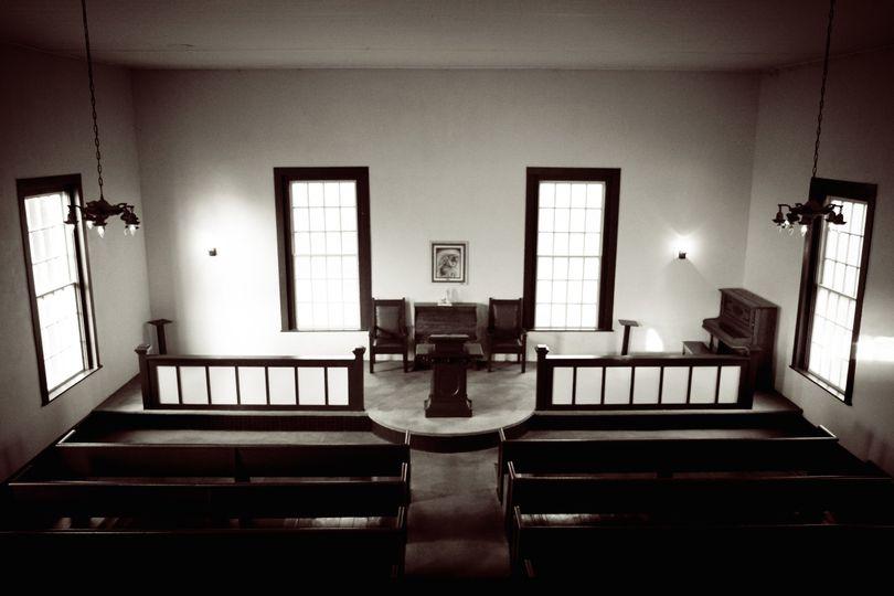 interior from balcony union church