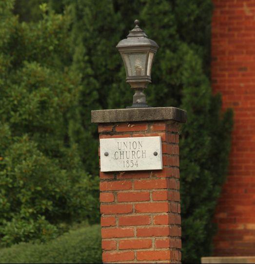 union church marker
