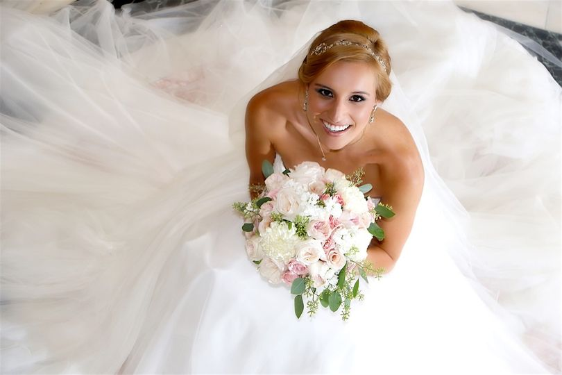 Real Bride from our blog