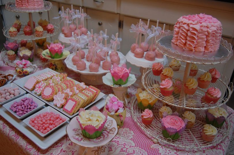 Sugar Fairy Cakes - Wedding Cake - Beachwood, OH - WeddingWire