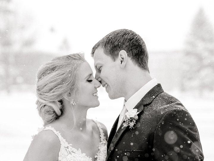 Tmx Downtown Fargo Winter Snowy Wedding Photos Lutheran Church Sanctuary Event Center Two Birds Photography 51 933310 1564455568 Fargo, ND wedding photography