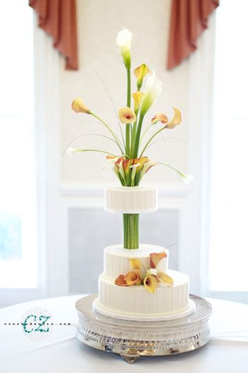 calla lily cake by martine