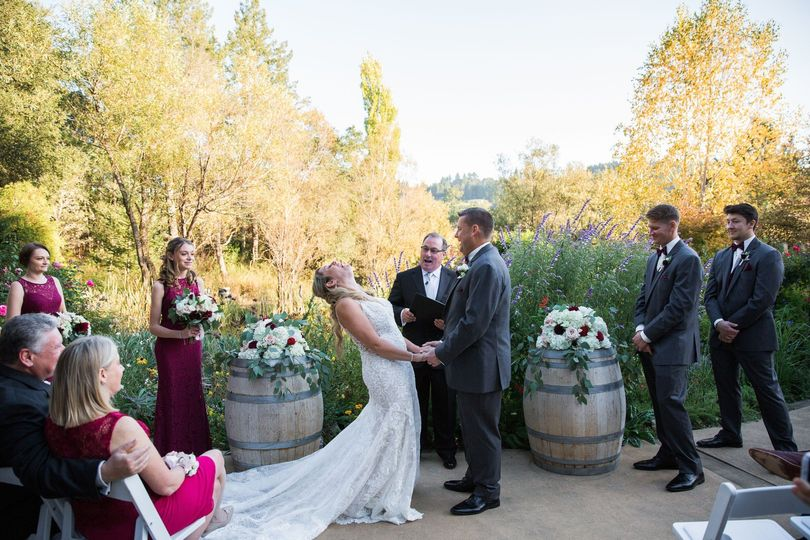 Ceremony in the fall