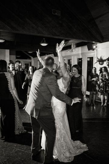 Guests enjoying the dance floor