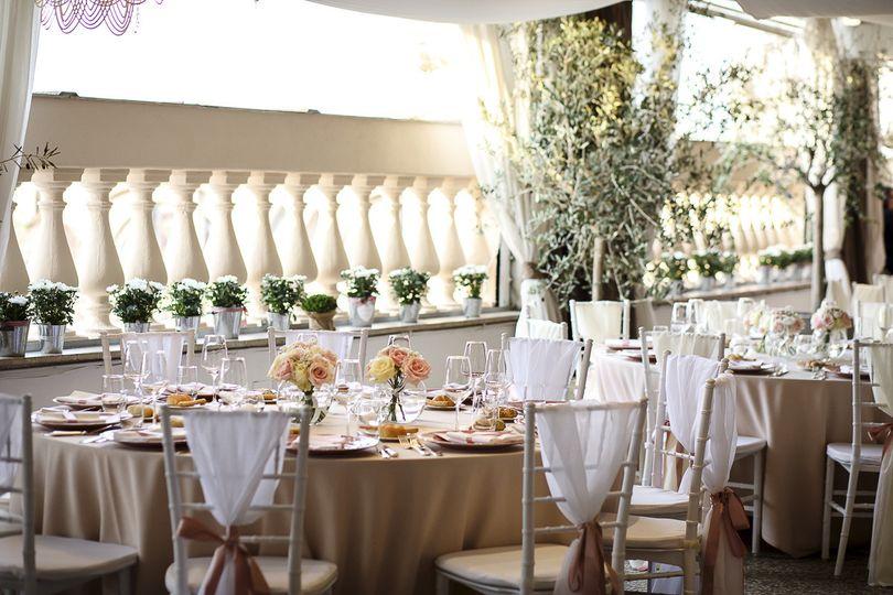 roof garden boscolo exedra tavoli