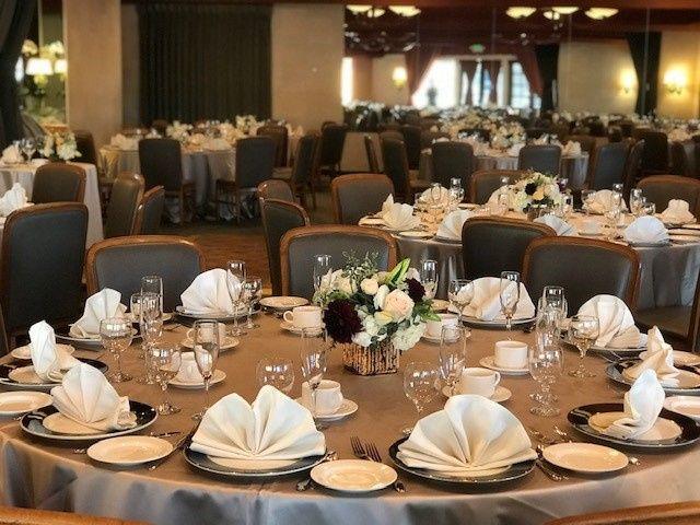 Elegant table setup