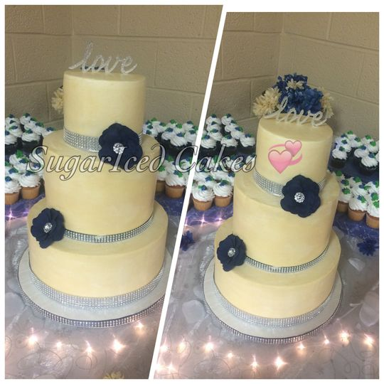 SugarIced Cakes LLC - Wedding Cake - Eastpointe, MI - WeddingWire