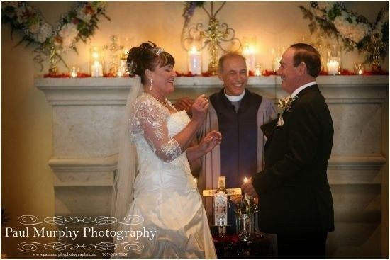North Bay Area Wedding Officiant & Napa Wedding Officiant for R. Ashley and Douglas burning with...