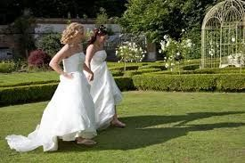 Tmx 1442468122230 Gay Women Couple Lawn Yountville wedding officiant