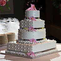 Wedding cake station