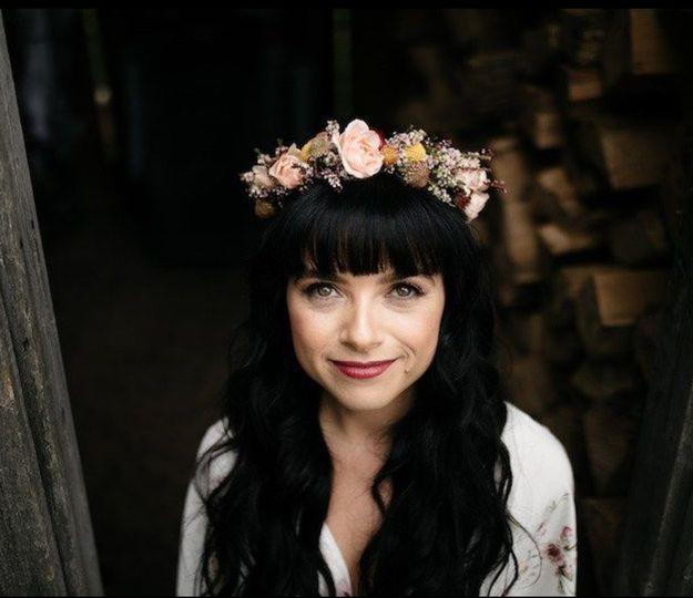Barn Wedding, Bohemian Bride