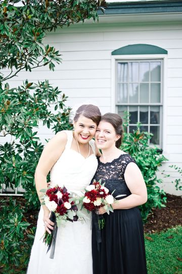 The bride and her mother | Photo provided by Poured Out Photography
