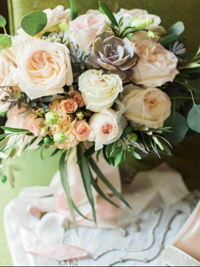 Bride's bouquet by Fleurie