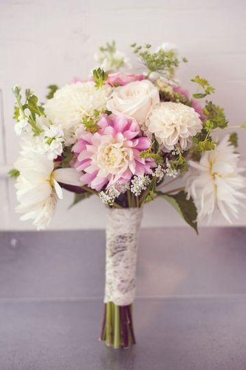 orly khon floral bouquet lace