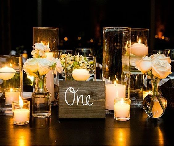 Candle setup