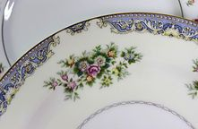 More than 25 patterns of vintage china in stock.