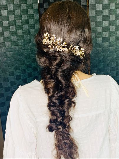 Mermaid boho braid