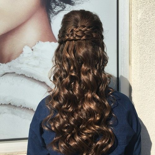 Braids and long curls