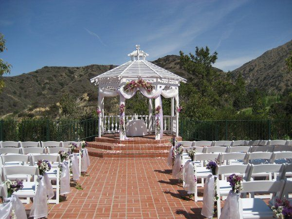 Our stunning Gazebo ceremony space