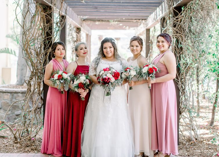 The Bride & Her Girls
