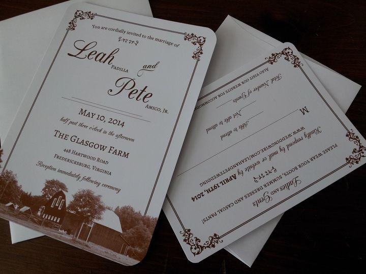Custom Farm Invitation Set