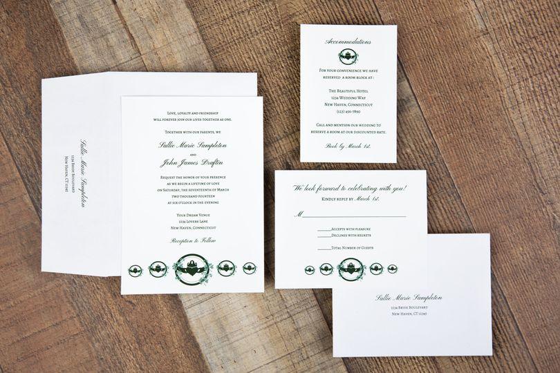 Claddagh Wedding Set