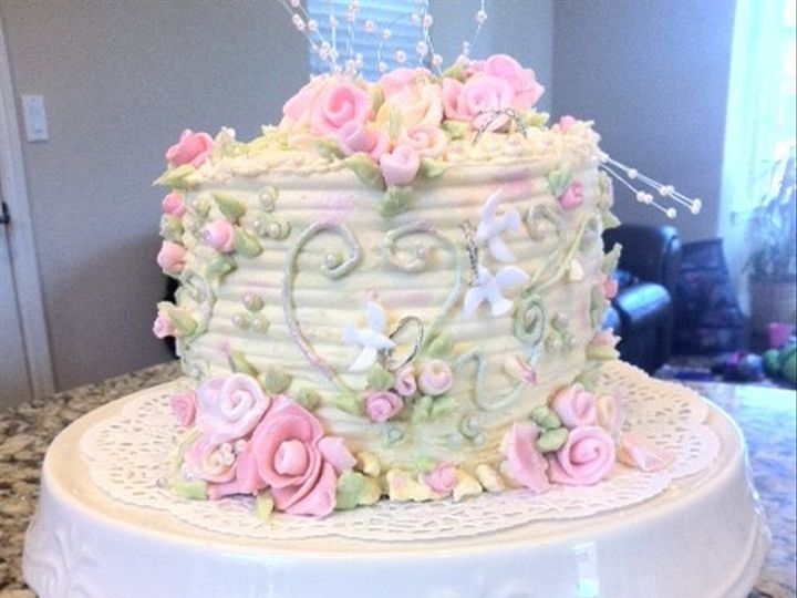 Tmx 1368124007675 Peggyswedding3 Santa Rosa wedding cake