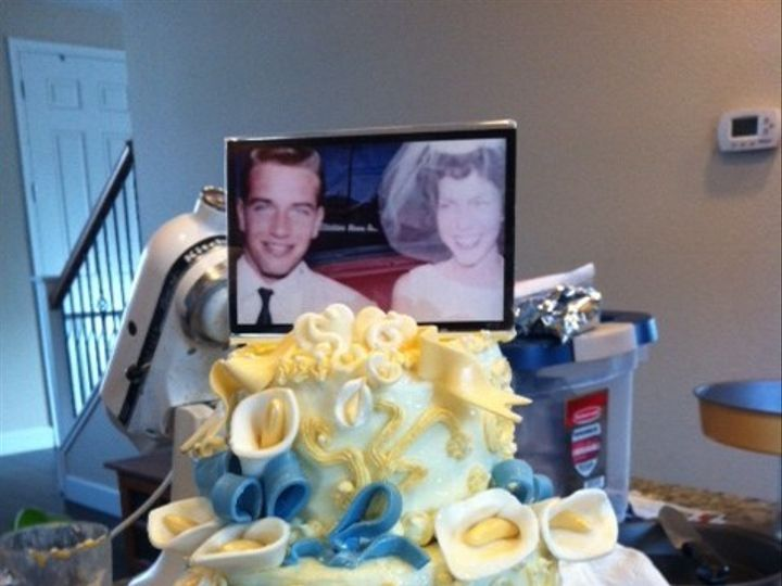 Tmx 1368124530961 Anniversarycake4 Santa Rosa wedding cake