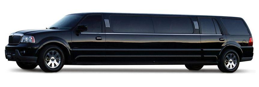 Black Navigator limousine