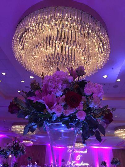 Chandelleir in Grand Ballroom