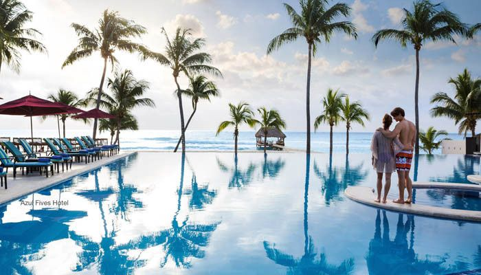 azulfives pool