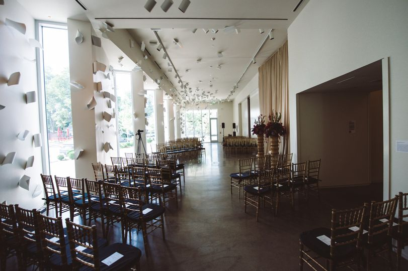 Ceremony in Gallery One