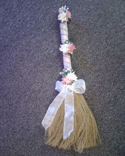 Pink Jumping Broom