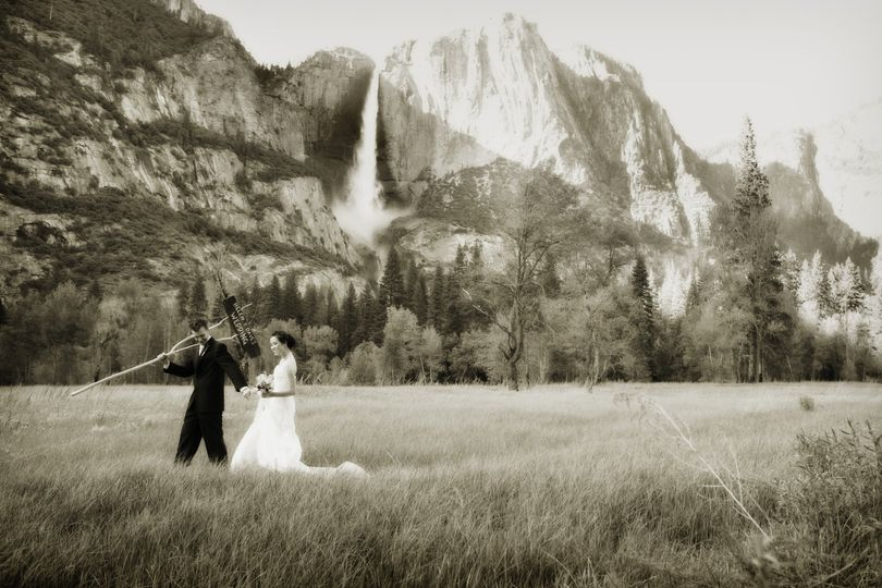 Stunning Yosemite backdrop