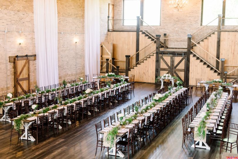 Long tables | Photo by Caressarogers.com
