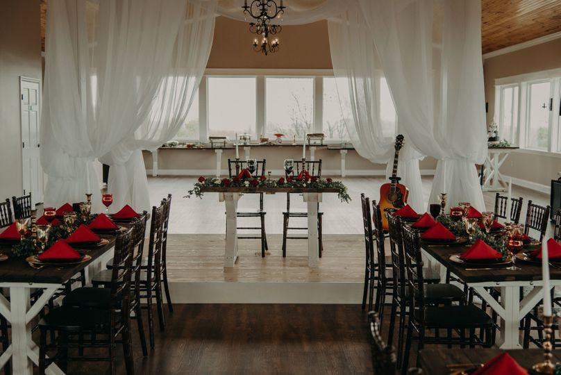 Sheer white draping | Photo by taylorephotography.com