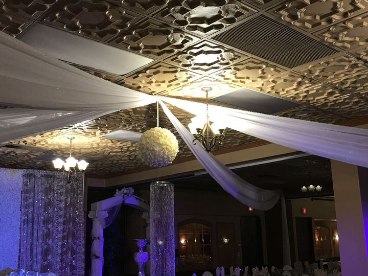 Ceiling decor and lighting
