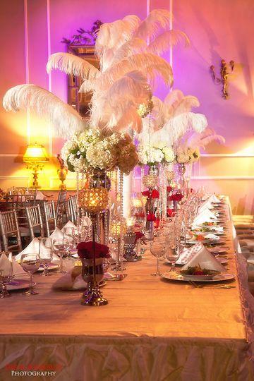 Bridal Party Table Le Bam Studio Wedding Design