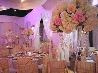 Wedding reception Le Bam Studio Wedding Design