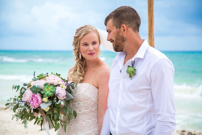 emily clay playa del carmen wedding grand coral be