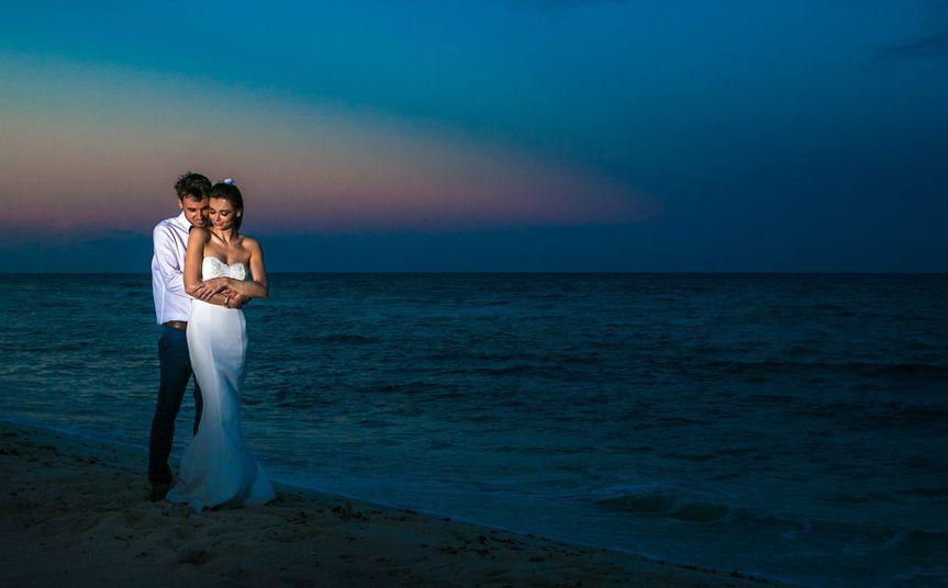 kelly simon playa del carmen wedding blue venado b