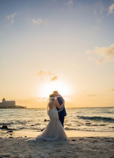 rachel ross beach wedding hyatt ziva cancun 02 6