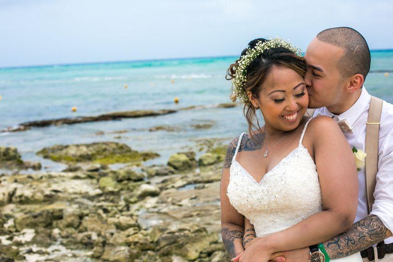 darrielle jobit riviera maya wedding sandos caraco